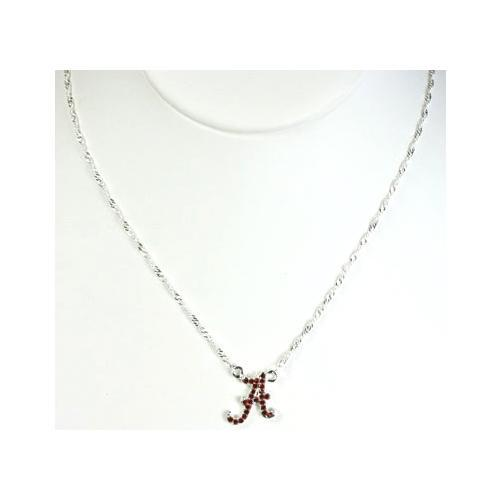 Alabama Rhinestone A Necklace
