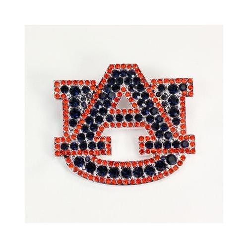 Auburn Rhinestone Au Pin