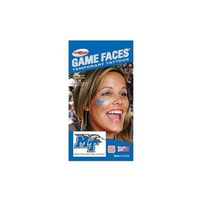 MTSU Face Tattoos