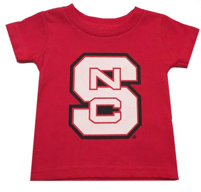 NC State Infant Block Logo Tee
