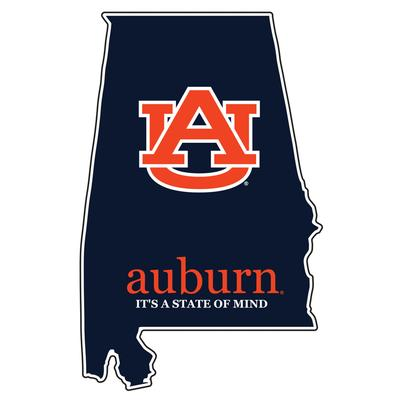 Auburn State of Mind Decal 4