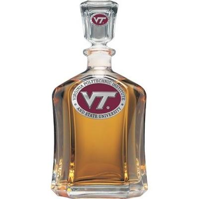 Virginia Tech Decanter