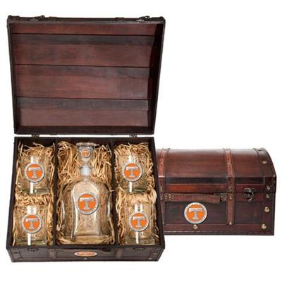 Tennessee Decanter Chest Set