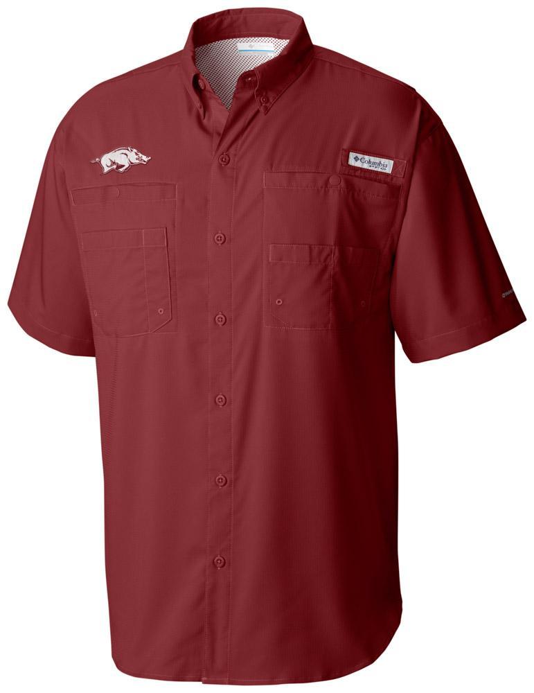 Arkansas Columbia Tamiami Short- Sleeve