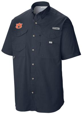 Auburn Columbia Tamiami Short-Sleeve