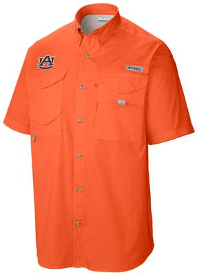 Auburn Columbia Tamiami Short-Sleeve ORANGE