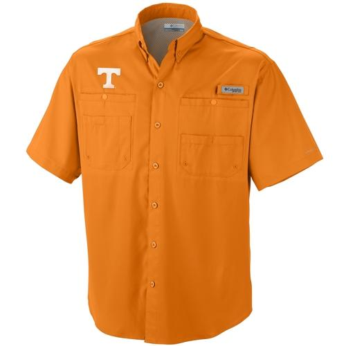 Tennessee Columbia Tamiami Short- Sleeve Shirt