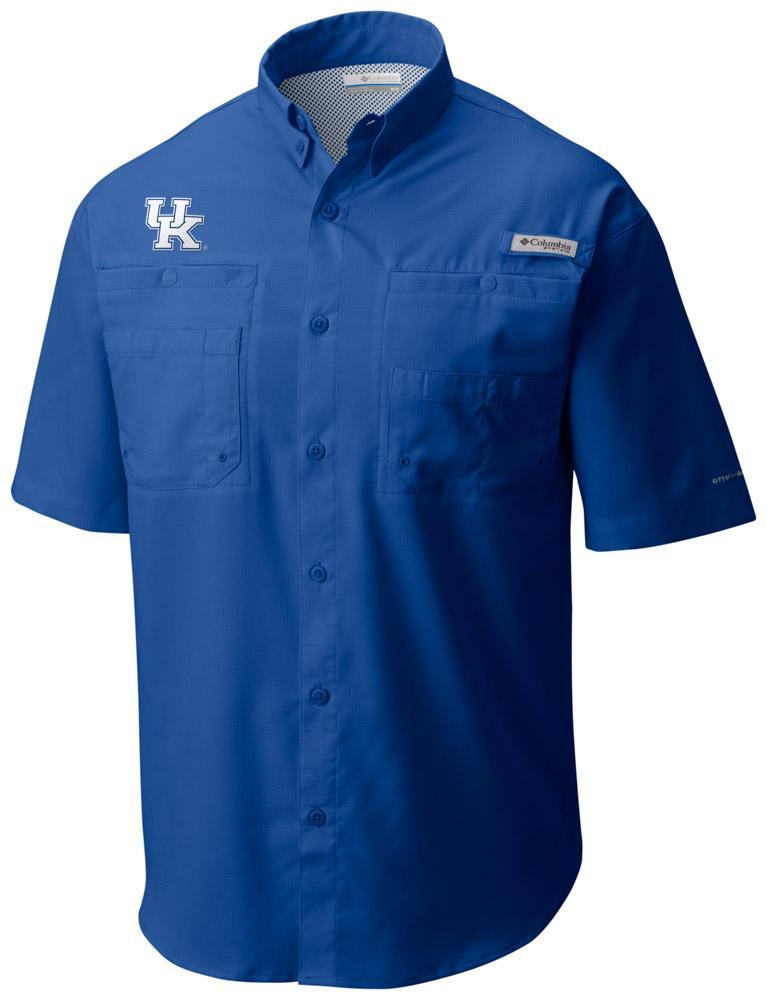 Kentucky Columbia Tamiami Short- Sleeve Shirt