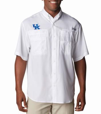 Kentucky Columbia Tamiami Short-Sleeve Shirt