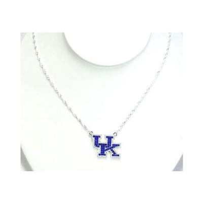 Kentucky Jewelry Rhinestone Necklace