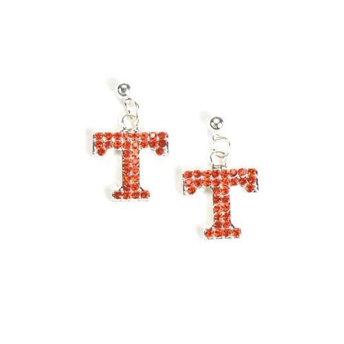 Tennessee Jewelry Rhinestone Earrings