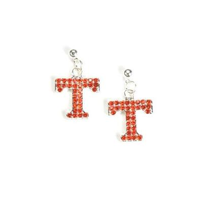 Tennessee Jewelry Rhinestone Earrings
