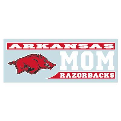 Arkansas Razorbacks MOM Block Decal 6