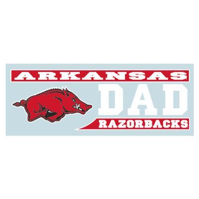 Arkansas Razorbacks DAD Block Decal 6