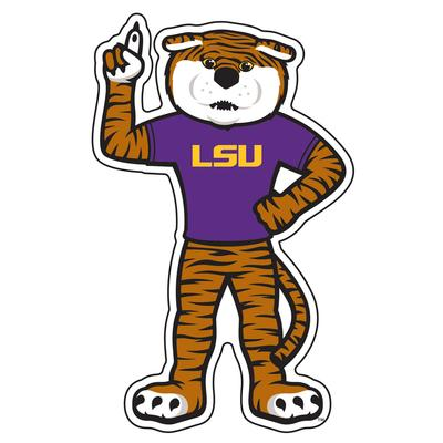 LSU Decal Mike The Tiger 4