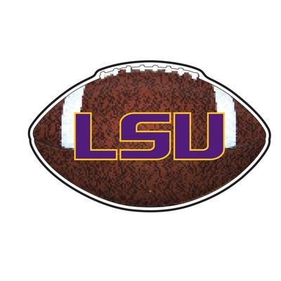 LSU Decal Football 4
