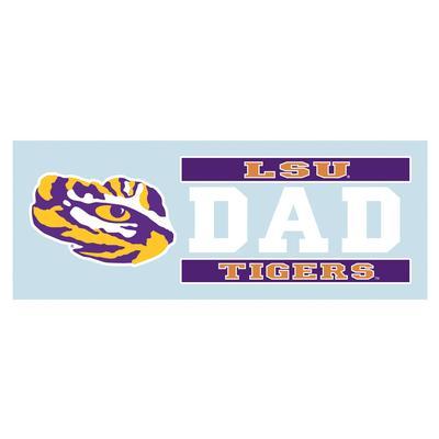 LSU Decal Dad Block 6