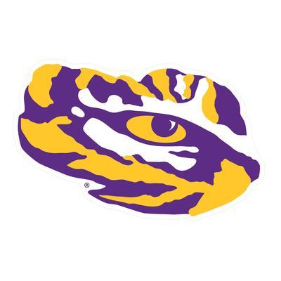 LSU Decal Tiger Eye 12