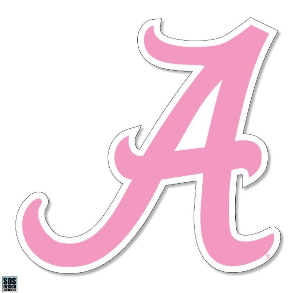 Alabama Pink Script A Decal 3