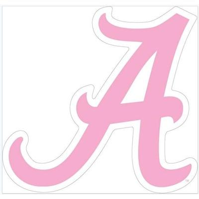 Alabama Pink Script A Decal 3