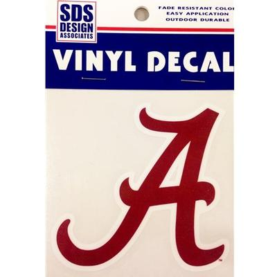 Alabama Decal Script A Logo 3