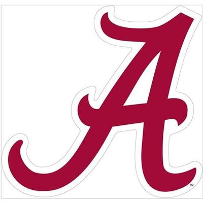 Alabama Script A Decal 6