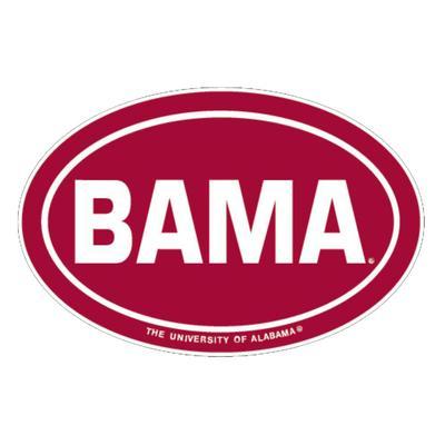 Alabama Decal Bama Oval 6