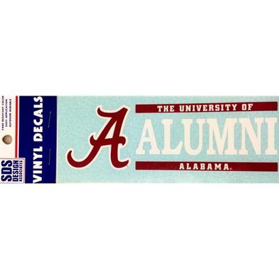 Alabama Decal Alumni Block 6
