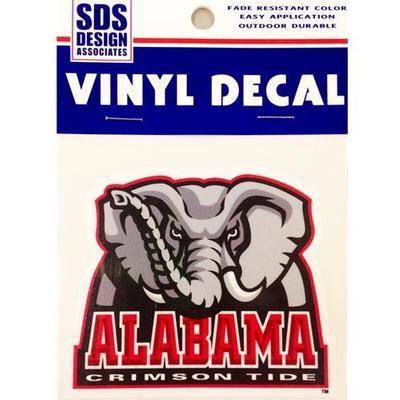 Alabama Decal Elephant Logo 3