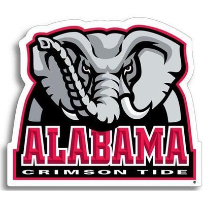 Alabama Elephant Logo Decal 6