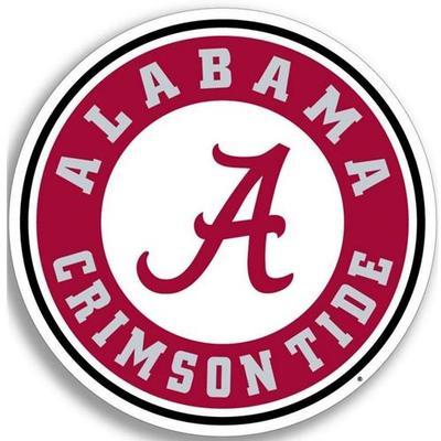 Alabama Circle A Logo Decal 12