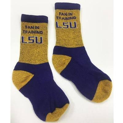 LSU Future Fan Youth Socks