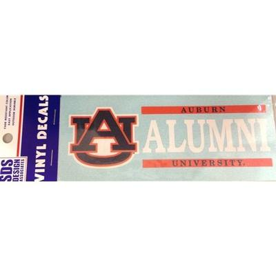 Auburn Decal Alumni Block 6