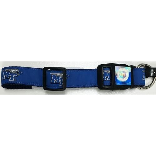 MTSU Team Logo Dog Collar