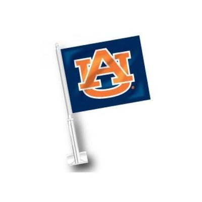 Auburn Navy Car Flag