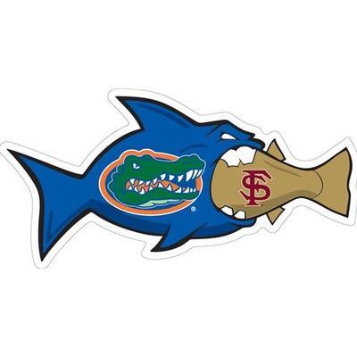Florida Decal UF vs FSU Rival Fish 6