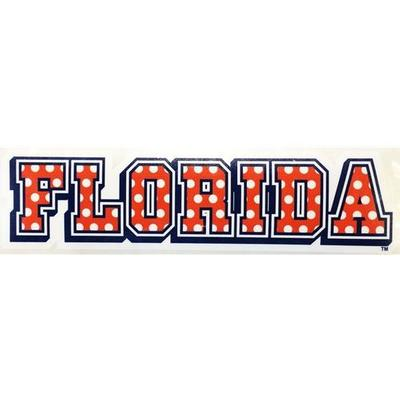 Florida Decal Striped Dots 10