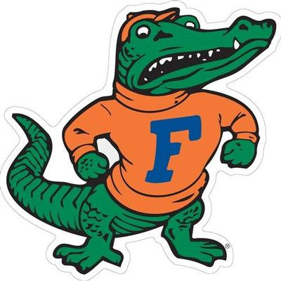 Florida Decal Albert Mascot 12