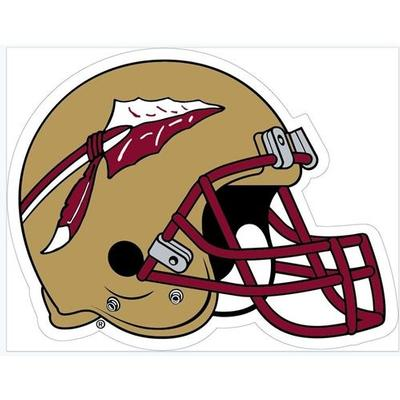 Florida State Football Helmet Decal 3