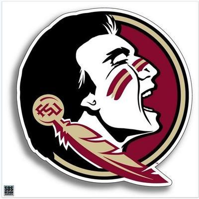 Florida State Seminole Logo Decal 24