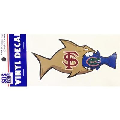 Florida State Decal Rival Fish Gator 6