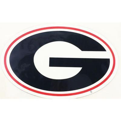 Georgia Decal Power G Logo 3