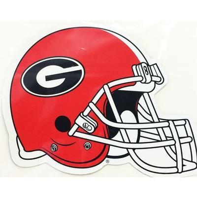 Georgia Decal Football Helmet 6