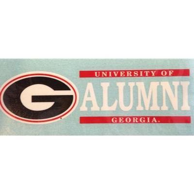 Georgia Alumni Vinyl Decal