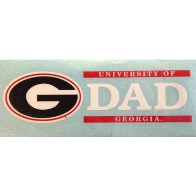 Georgia Dad Vinyl Decal