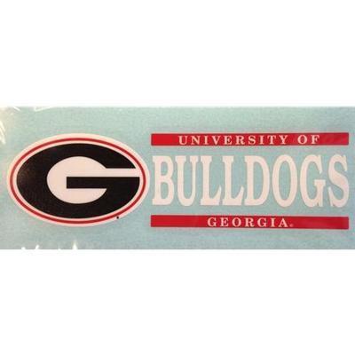 Georgia Bulldogs Vinyl Decal