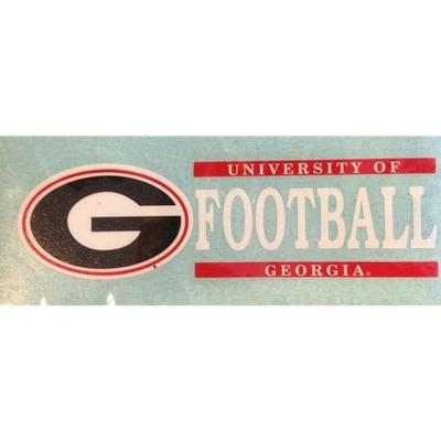 Georgia Football Vinyl Decal