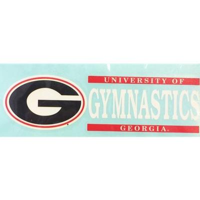 Georgia Decal Gymnastics Block 6