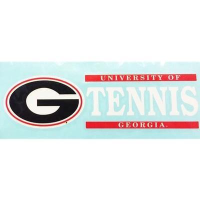 Georgia Decal Tennis Block 6