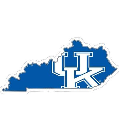 Kentucky State Outline Decal 6